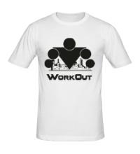 Мужская футболка Workout City