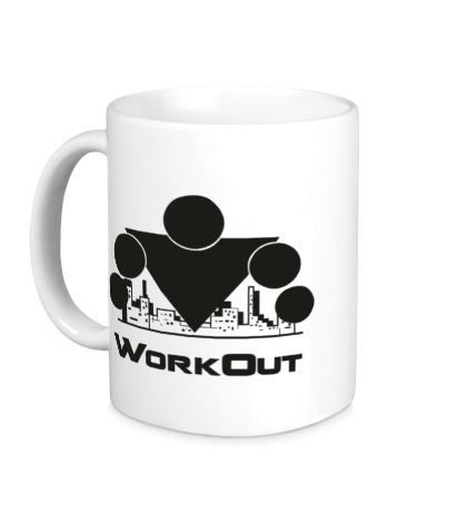 Керамическая кружка Workout City