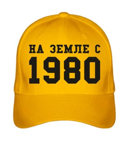 Бейсболка На земле с 1980