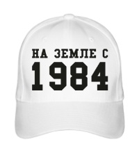Бейсболка На земле с 1984