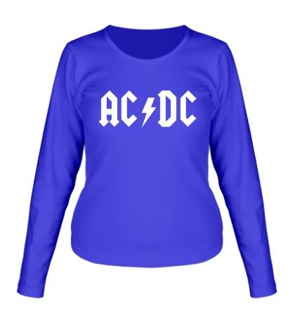 Женский лонгслив AC/DC