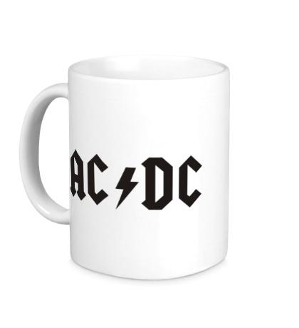Керамическая кружка AC/DC
