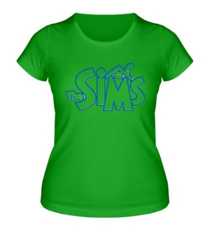Женская футболка The Sims