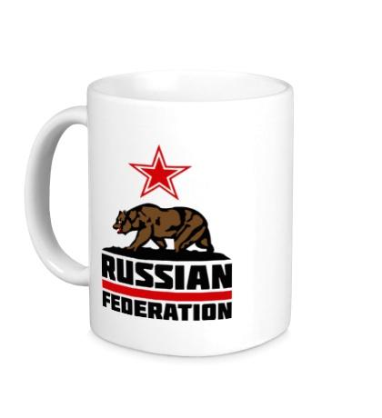 Керамическая кружка Russian Federation