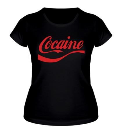 Женская футболка Cocaine