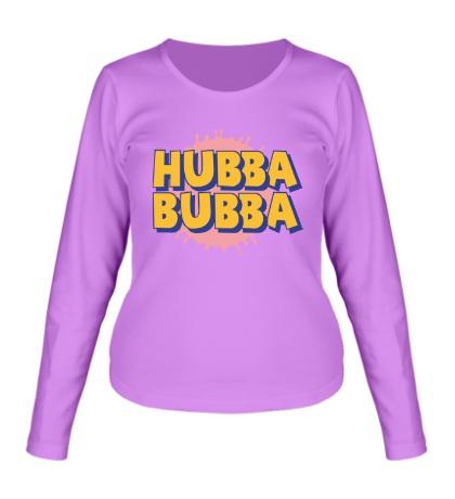 Женский лонгслив Hubba Bubba