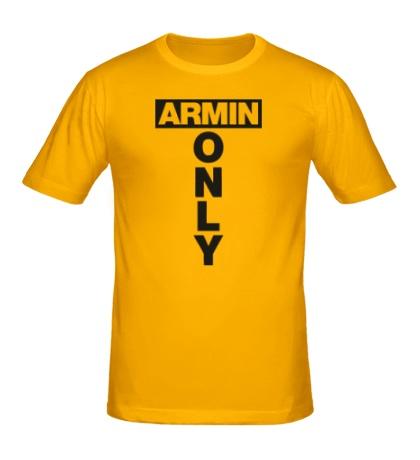 Мужская футболка Armin Only Sign