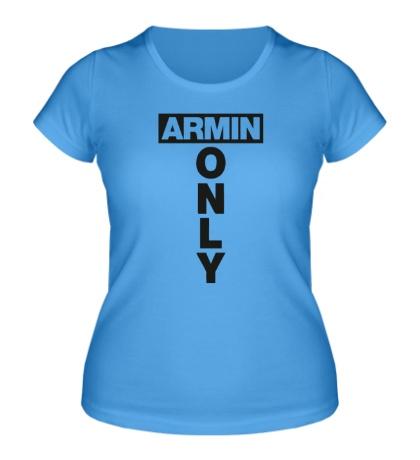 Женская футболка Armin Only Sign
