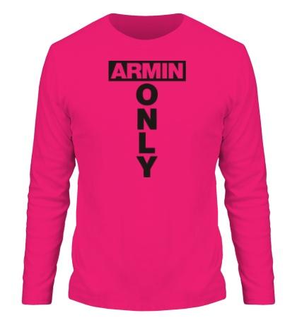 Мужской лонгслив Armin Only Sign