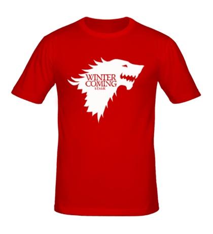 Мужская футболка Winter is Coming: Team Stark