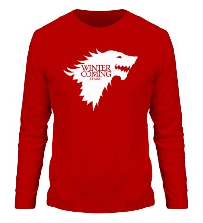 Мужской лонгслив Winter is Coming: Team Stark