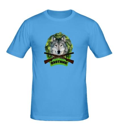 Мужская футболка Охотник на волков