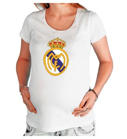 Футболка для беременной FC Real Madrid