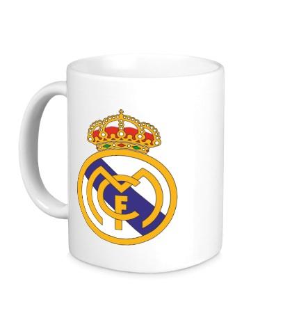 Керамическая кружка FC Real Madrid