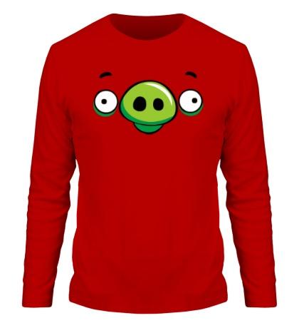Мужской лонгслив Angry Birds: Pig Face
