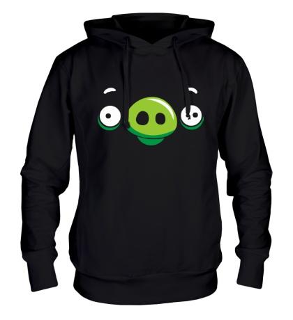 Толстовка с капюшоном Angry Birds: Pig Face