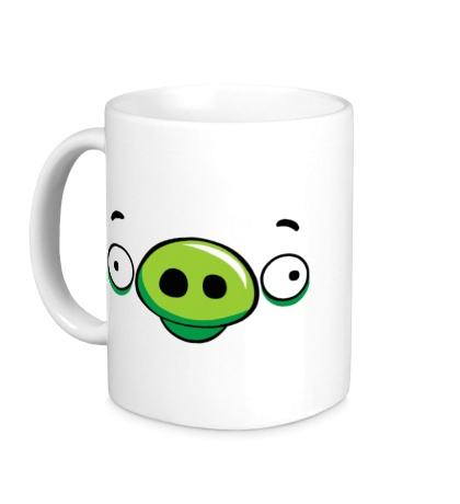 Керамическая кружка Angry Birds: Pig Face
