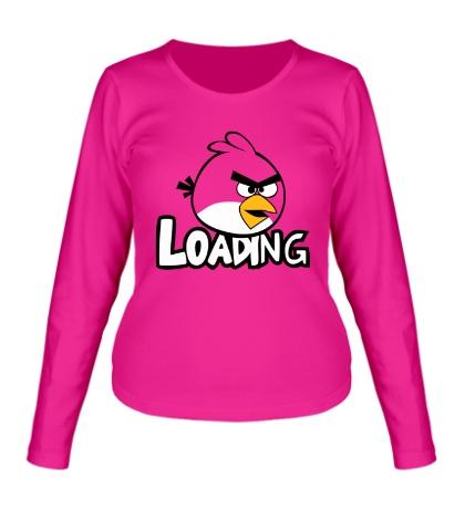 Женский лонгслив Angry Birds Loading
