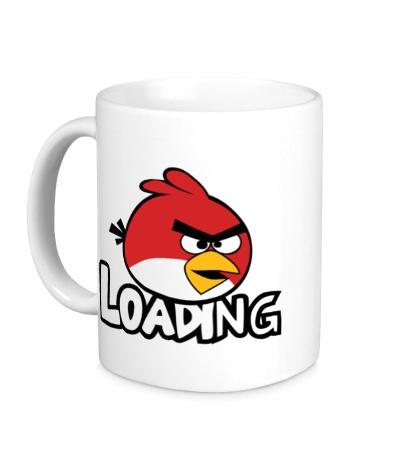 Керамическая кружка Angry Birds Loading