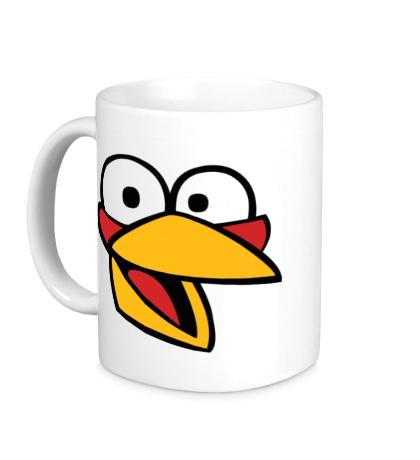 Керамическая кружка Angry Birds: Jake Face