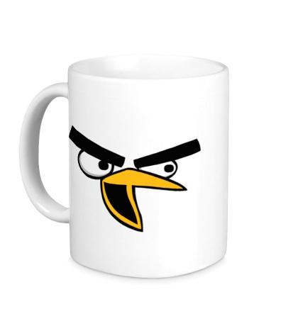 Керамическая кружка Angry Birds: Chuck Face