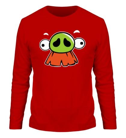 Мужской лонгслив Angry Birds: Baron Face