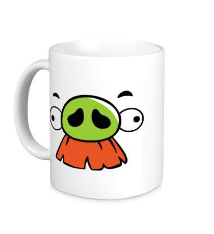 Керамическая кружка Angry Birds: Baron Face