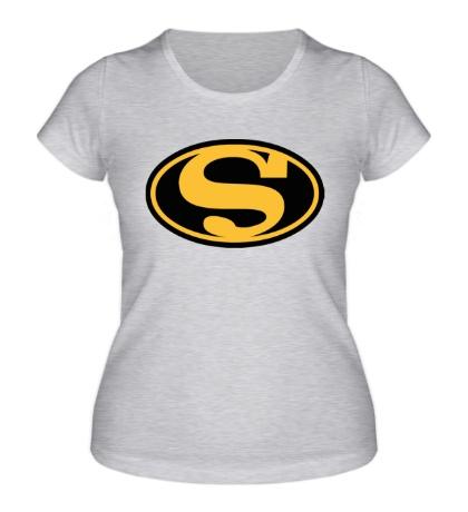 Женская футболка Bat Superman