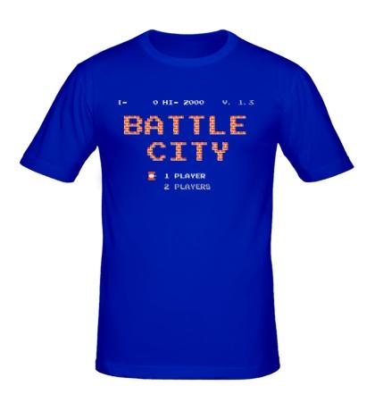 Мужская футболка Battle City Glow
