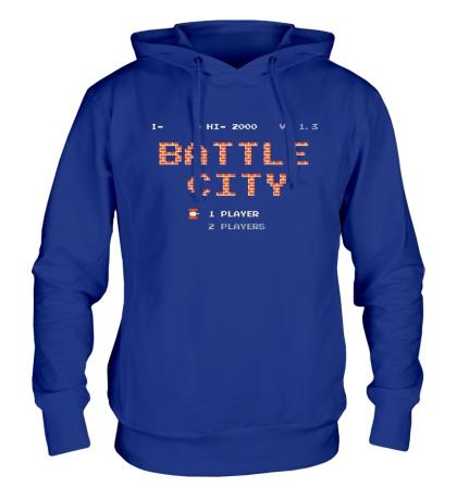 Толстовка с капюшоном Battle City Glow