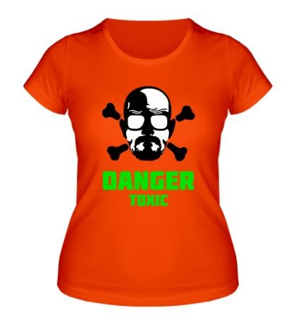 Женская футболка Danger Toxic