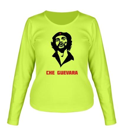 Женский лонгслив Che Guevara Revolution