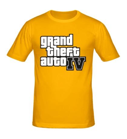 Мужская футболка Gta 4