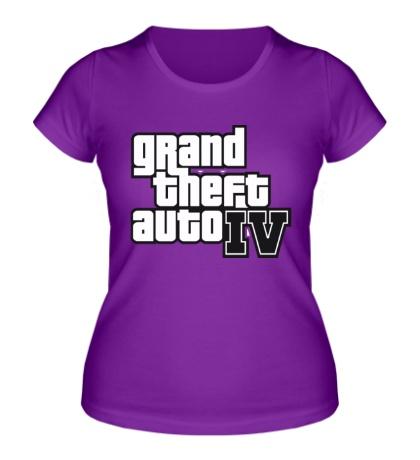 Женская футболка Gta 4