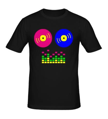 Мужская футболка DJ Equalizer