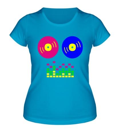Женская футболка DJ Equalizer