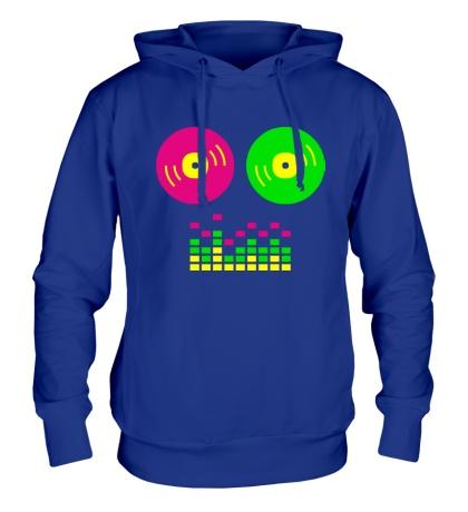 Толстовка с капюшоном DJ Equalizer