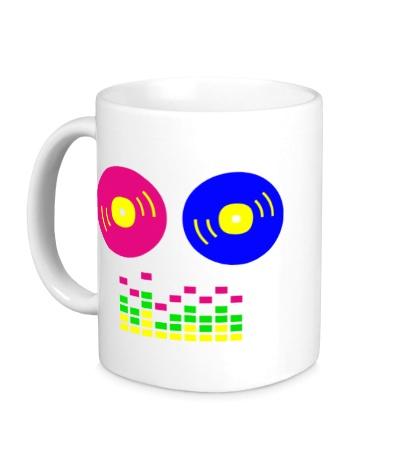 Керамическая кружка DJ Equalizer