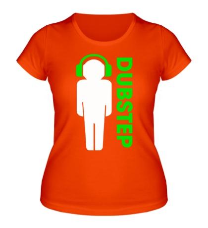 Женская футболка DubStep Peoples