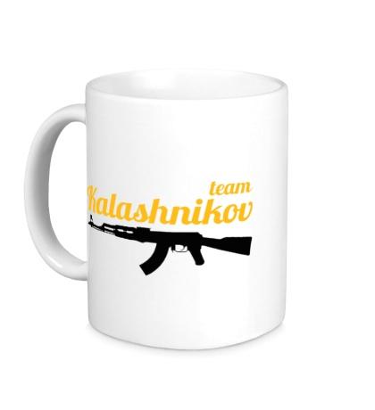 Керамическая кружка Kalashnikov Team