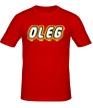 Мужская футболка «Oleg» - Фото 1