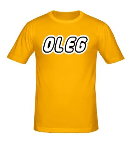 Мужская футболка «Oleg»