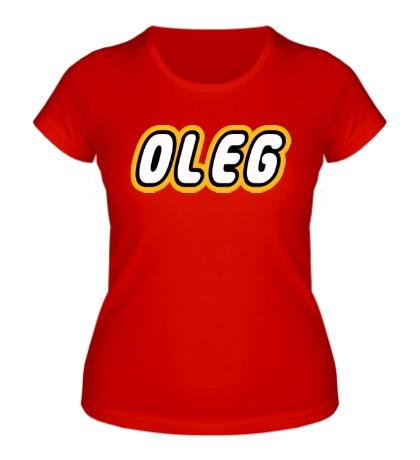 Женская футболка Oleg