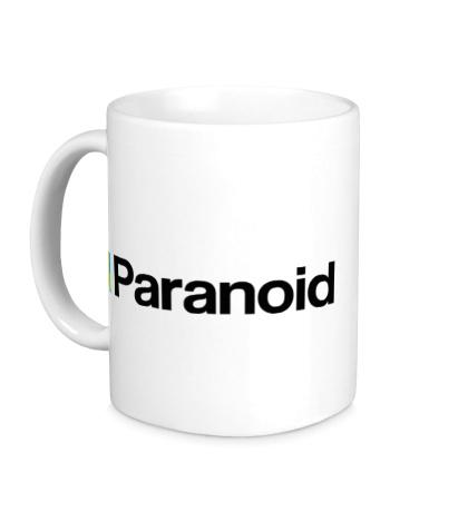 Керамическая кружка Paranoid
