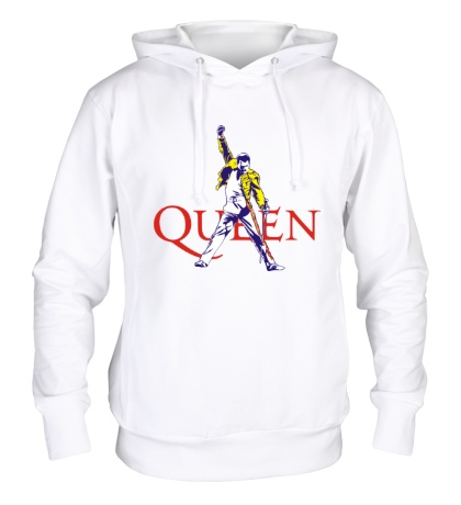 Толстовка с капюшоном Queen