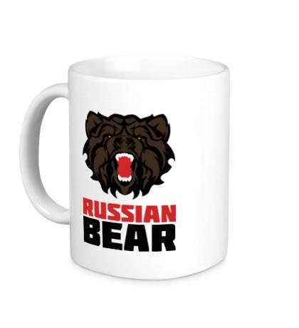 Керамическая кружка Russian Bear