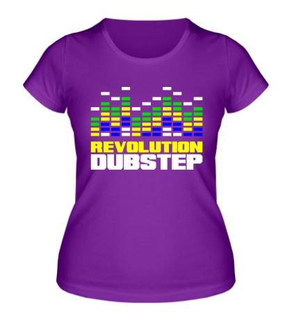 Женская футболка Revolution DubStep