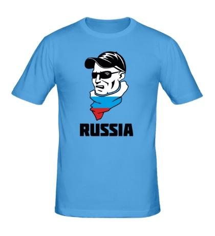 Мужская футболка Russian Hooligan
