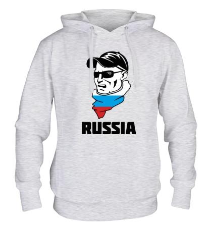 Толстовка с капюшоном Russian Hooligan