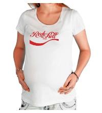 Футболка для беременной Rock n Roll